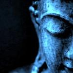 Closed eyes of Buddha 250