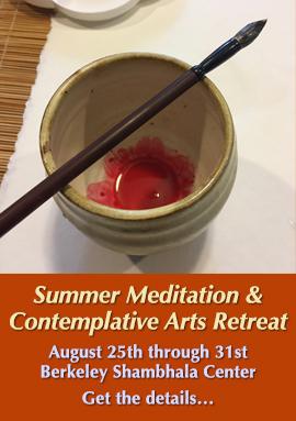 Summer Meditaion & contemplative Arts Retreat